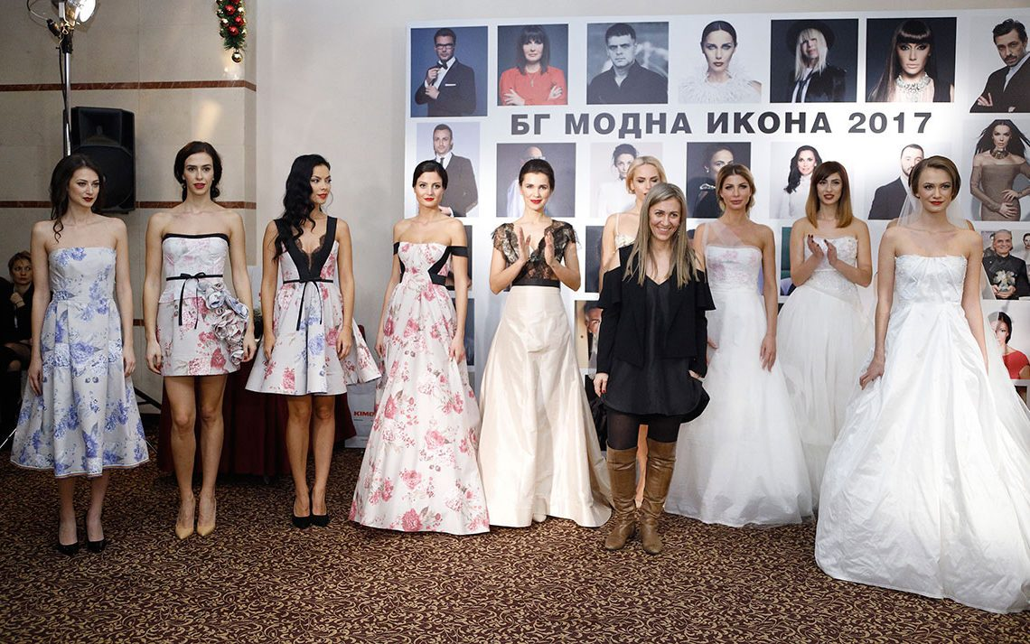 FЀDE Bridal collection on the fashion show at the BG Fashion Icon Awards