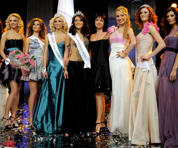 FЀDE was the official fashion brand of the beauty contest Miss Bulgaria 2010
